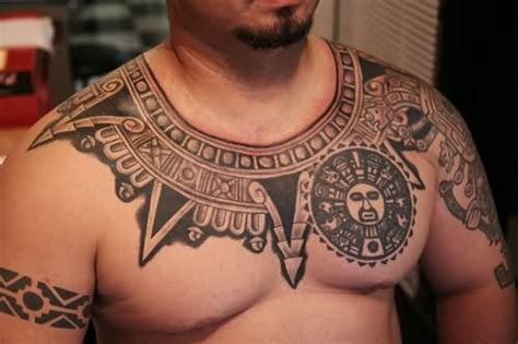 necklace tattoo designs for men polynesian necklace for