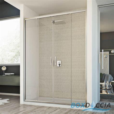 porta cabina doccia box cabina doccia nicchia parete porta 2 ante cristallo