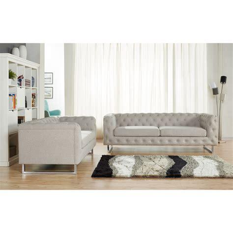 linen sofa set container scroll 2 piece modern linen fabric sofa set