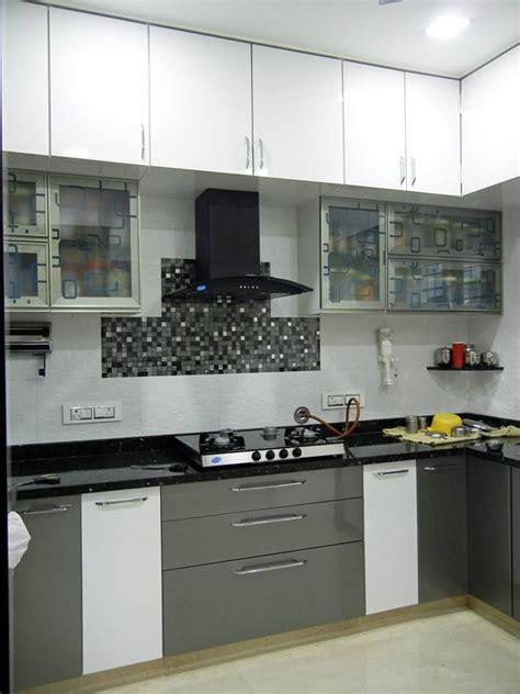 bhk apartment modern kitchen  interiors  suniti