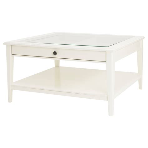 Glass Side Table Ikea Liatorp Coffee Table White Glass 93x93 Cm Ikea