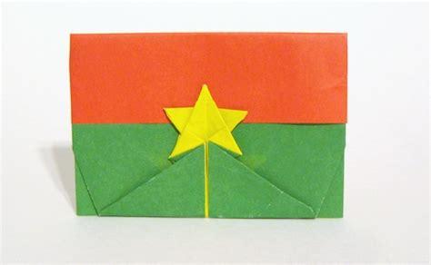 Gilad Origami - flag of burkina faso gilad aharoni gilad s origami page
