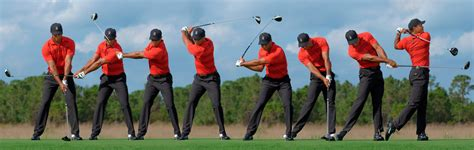 golf swing sequence swing sequence tiger woods golf digest