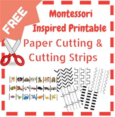 montessori printables for preschool free paper cutting printables resources for the