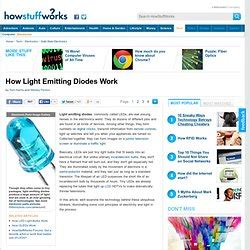 how emitting diodes work electronic products pearltrees
