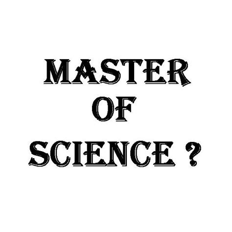 Scope Of Mba After Msc by Master Of Science Degree Program Free Software And