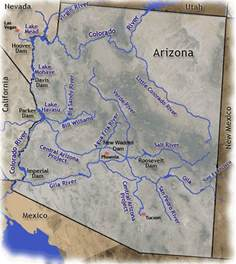 map of arizona rivers elizabeth e psu geog 368u wiki