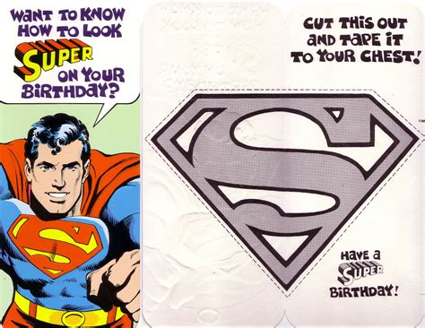 superman birthday card template birthday6 html