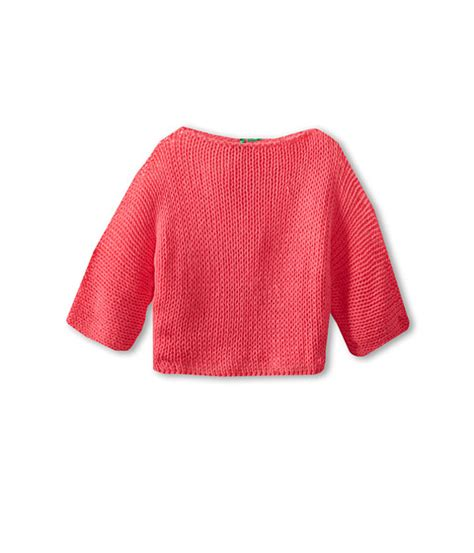 Sweater Crop United Ta5641 united colors of benetton cropped knit sweater big shipped free