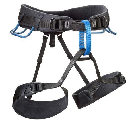 Harness 8003 Black Petzl black momentum ds rock climbing harness