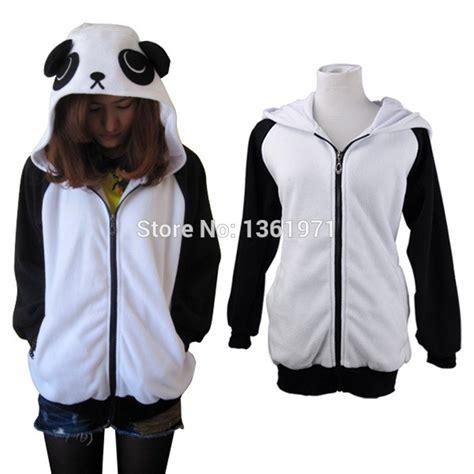 Jaket Hodie Footpint Panda free shipping autumn winter warm plus size panda