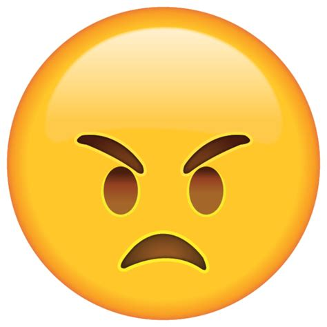 printable emojis faces angry emoji give someone a warning that they re making