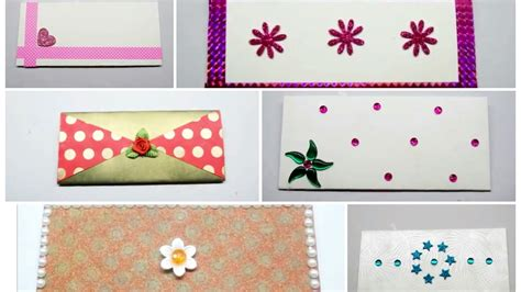 6 amezing decorative envelopes at home how to decorate