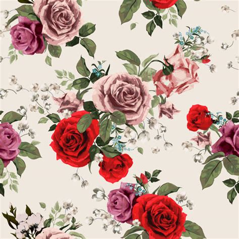 download pattern rose 10 free vector rose patterns freecreatives