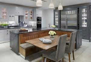 Build A Kitchen Island With Seating kitchen island with built in seating inspiration the owner builder