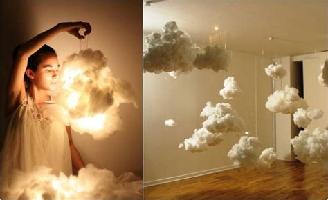 How To Make A Cloud Light by 10 Statement Light Fixtures You Can Make Yourself