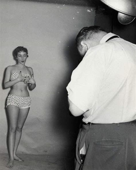 Weegee And The Notorious Bettie Page Camera Club Go To Headley Farm New Jersey
