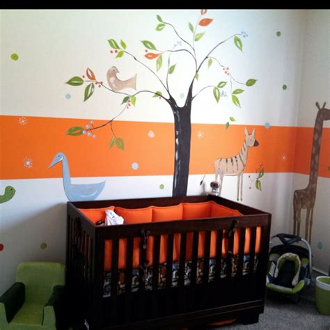 chambre enfant orange best chambre orange et gris bebe gallery seiunkel us