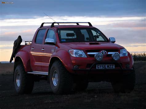 toyota hilux arctic photos of arctic trucks toyota hilux invincible at38 2007