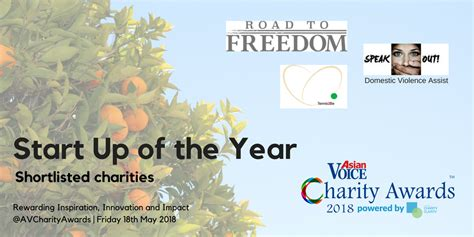 charity started by 7 year shortlist 2018 charity awards charity clarity
