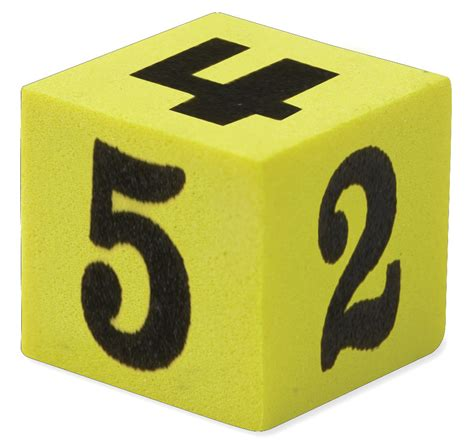 Sale Soft Number soft foam number dice pack of 5