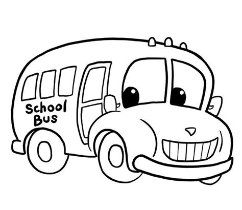 printable coloring pages school bus printable school bus coloring page for free