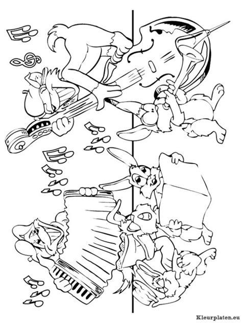 kids n fun com coloring page musical instruments musical muziekinstrumenten kleurplaat 94993 kleurplaat