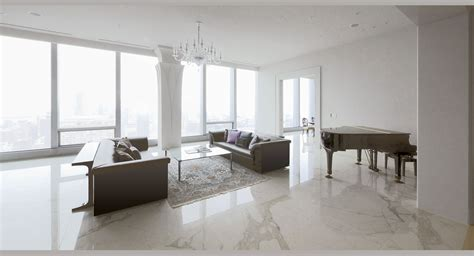 white marble floor living room white marble apartment po ku custom luxury home builders