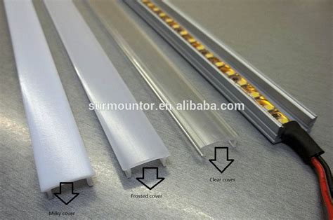 Custom Led Aluminum Extrusion A4435 For Ceiling Lighting Custom Led Lights