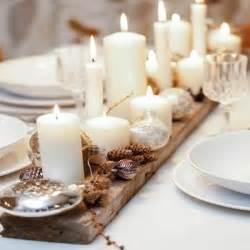 Couronne Centre De Table Noel #1: centre-de-table-bois-avec-bougies-comme-deco-noel.jpg