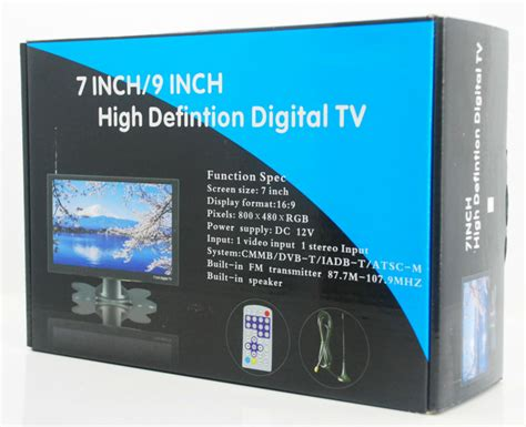 Decoder Set Tv 20inch dvb t29 9 inch portable thailand dvb t2 receiver lcd tv