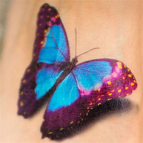 TattooYou Realistic Butterfly Temporary Tattoo
