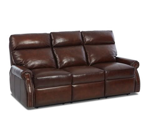 Leather Sofa With Recliner Comfort Design Jackie Reclining Leather Sofa Clp729