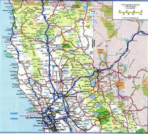 northern california cing map california highway