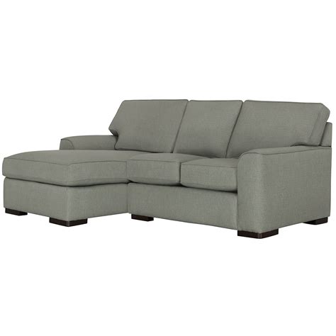 Fabric Sectional With Chaise by City Furniture Green Fabric Left Chaise Sectional
