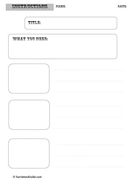 template ks1 writing template free teaching resources