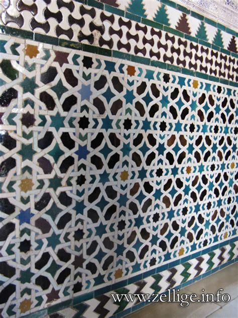 piastrelle marocco zellige marocain galerie de photos histoire techniques