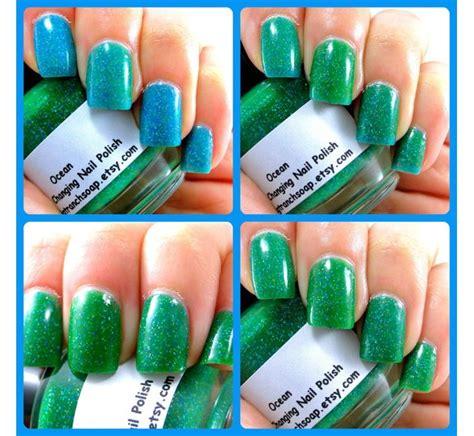 color changing nail in water color changing nail mood nail