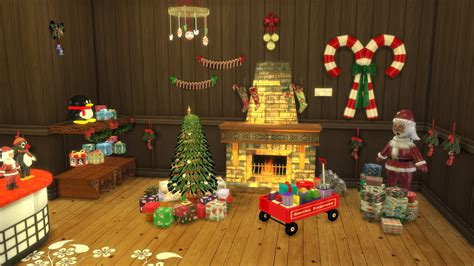 sims 3 christmas decor cc shop conversion by leo teh sims