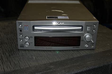 format audio cd normal tascam cd rw4u image 399163 audiofanzine