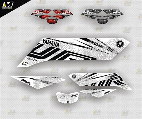 Yamaha Wr 125 R Sticker Kit by Yamaha Wr125r Decals Stickers Graphics Kit 2009 2018