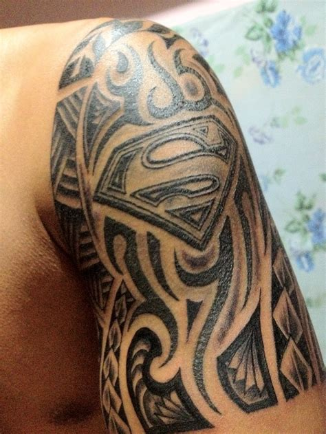superman tribal tattoos superman tribal random cool stuff
