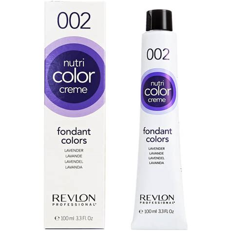 revlon nutri color creme revlon professional nutri color creme 002 lavender 100ml