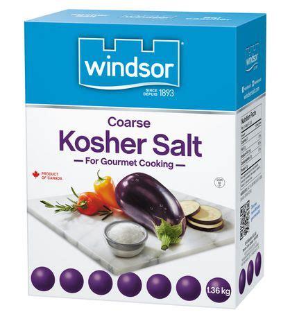 salt ls walmart canada windsor 174 kosher salt walmart canada
