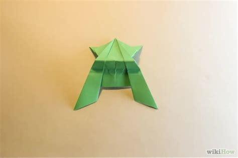 Katak Origami - origami katak comot