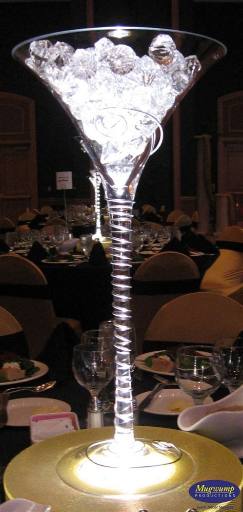 25 years centerpiece martini glass   Comments Full size is