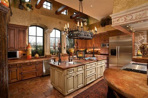 Tuscan Kitchen Design by Kitchen Creations