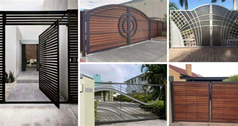 Exterior Home Design Types Impressive Gate Designs That Are Impossible To Resist