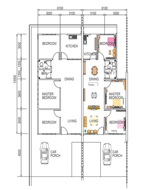 floor plan cost jak kwang builders developers sdn bhd low cost plus