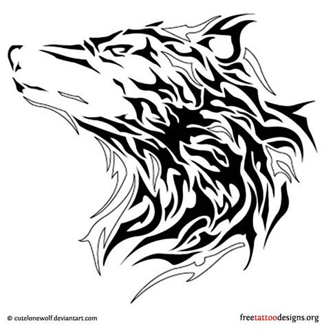 wolf creek tattoo tribal wolf coloring wolves